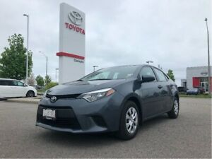 2015 Toyota Corolla CE|One Owner|Off Lease|Newer Tires!