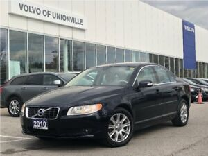 2010 Volvo S80 3.2 FWD A SUNROOF,HEATED SEATS, BLUETOOTH
