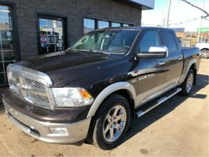 2011 Ram 1500 Laramie CREW 4X4 LOADED!