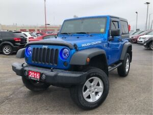 2016 Jeep Wrangler SPORT**HARD TOP**A/C**ALPINE SPEAKERS**
