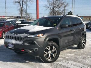 2018 Jeep Cherokee TRAILHAWK**8.4 TOUCHSCREEN**BACK UP CAM**TOW