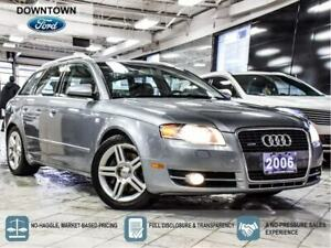 2006 Audi A4 2.0T | QUATTRO AWD| LEATHER| CLEAN
