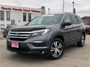 2017 Honda Pilot EX-L Navi - Leather - Sunroof - Lane Watch