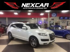 2013 Audi Q7 3.0T PROGRESSIVE 7 PASS NAVIGATION PANO/ROOF 79K