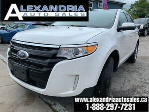 2013 Ford Edge SEL/navi/leather/pano sunroof/very clean/safety i