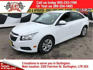 2015 Chevrolet Cruze 1LT, Automatic, Back Up Camera