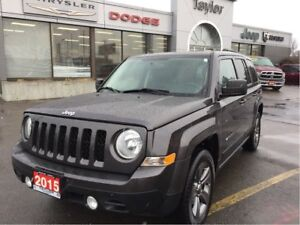 2015 Jeep Patriot Sport Altitude 4x2 w/Automatic, Leather, Sunro