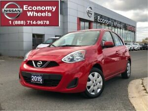 2015 Nissan Micra SV - One Owner