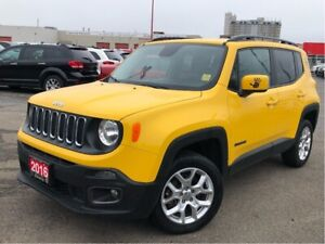 2016 Jeep Renegade NORTH**4X4**BLUETOOTH**NAV**HEATED SEATS**