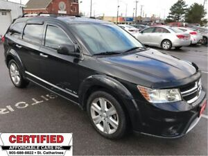 2012 Dodge Journey R/T ** AWD, HTD LEATH, AUTOSTART **