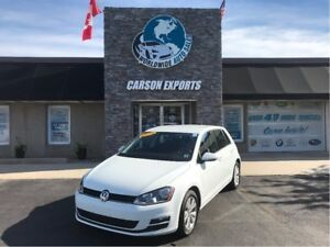 2015 Volkswagen Golf COMFORTLINE WITH VERY LOW KMS! FINANCING AV