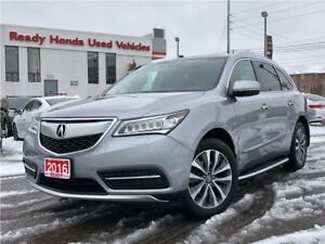 2016 Acura MDX Tech Pkg - Navigation - Leather - Sunroof