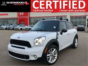 2012 MINI Cooper S Countryman NAVI| HEATED LEATHER| PARK ASSIST|