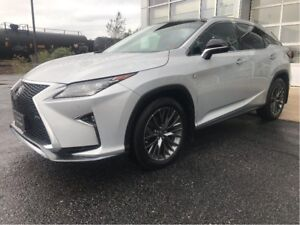 2016 Lexus RX 350 F-SPORT 3 PACKAGE