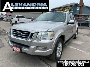 2007 Ford Explorer Sport Trac Limited/leather/sunroof/very clean