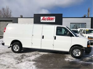2018 Chevrolet Express 2500 extended. finance or lease from 5.99