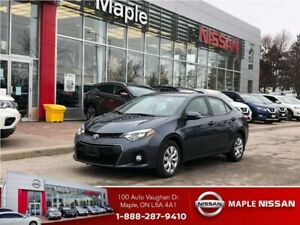 2015 Toyota Corolla S- Blue Tooth, Heated Seats, leather Trim+++