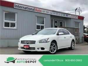 2014 Nissan Maxima SV | BACK-UP CAM | BLUETOOTH | LEATHER | MOON