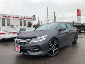 2016 Honda Accord Sedan Touring - Navigation - Leather - Sunroof