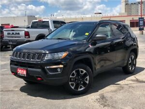 2018 Jeep Compass TRAILHAWK**4X4**LEATHER**NAV**BACK UP CAMERA**