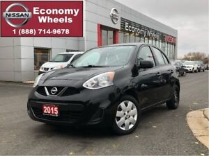 2015 Nissan Micra SV / One Owner