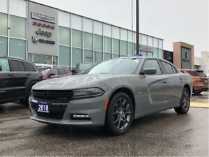 2018 Dodge Charger GT AWD, Carplay, Remote Start, Leather, Roof!