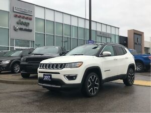 2017 Jeep Compass JUST ARRIVED! LOADED LIMITED WITH ALL THE FEAT