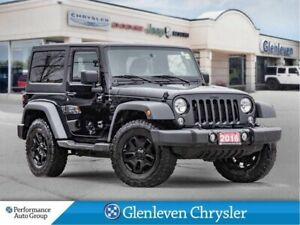 2016 Jeep Wrangler Willys Dual Tops bluetooth