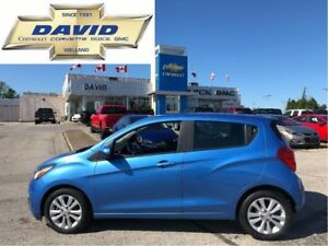 2016 Chevrolet Spark 1LT/ ALLOYS/ REAR CAM/ FOGS/ LOCAL