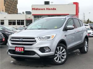 2017 Ford Escape Titanium - 4WD - Post Collision Safety System !