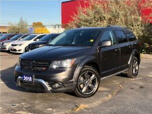 2018 Dodge Journey CROSSROAD**AWD**LEATHER**NAV**SUNROOF**