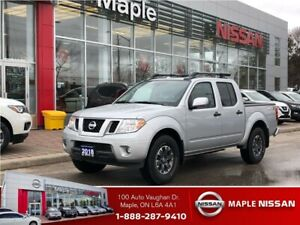 2018 Nissan Frontier Crew Cab PRO-4X -Leather,Roof,Navi!