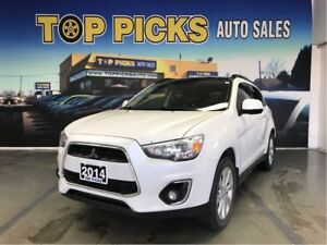 2014 Mitsubishi RVR GT LOADED! Leather, Extended Sunroof, Certii