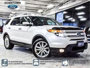 2013 Ford Explorer Limited, Tow Pack, Hwy Mileage, Navi, Prem Au