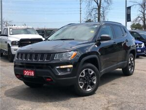2018 Jeep Compass TRAILHAWK**LEATHER**SUNROOF**NAV**BACK UP CAME