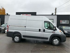 2017 Ram ProMaster 2500 Double Doors, 3 Seater! HR 136