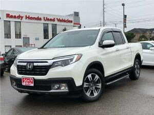 2017 Honda Ridgeline Touring - Navigation - Leather - Sunroof -