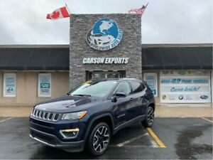 2018 Jeep Compass WOW LOW KM LIMITED! FINANCING AVAILABLE!