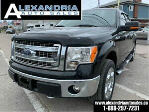 2014 Ford F-150 XLT/V8/leather/sunroof/4x4/super crew/safety inc