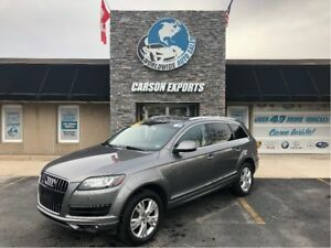 2012 Audi Q7 3.0L Premium AWD AND HEATED SEATS!