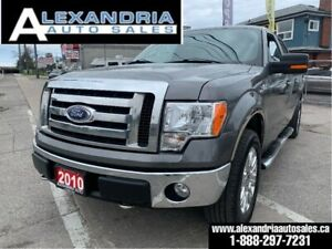 2010 Ford F-150 XLT/170km/supercrew/4x4/clean/safety included