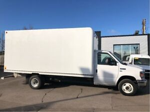 2018 Ford E-450 16ft cube with Ramp. fin or leasing available OA