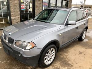 2004 BMW X3 2.5i AWD MANUAL RARE!