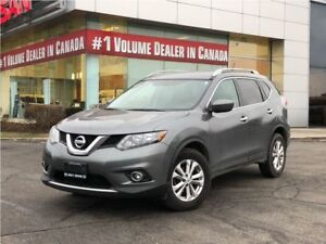 2016 Nissan Rogue SV FWD|ONE OWNER|OFF LEASE|BACKUP CAM|PUSH STA