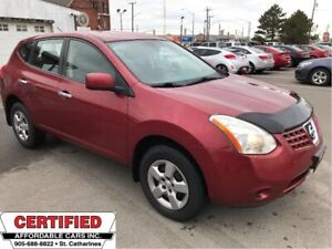 2010 Nissan Rogue S ** CRUISE, AUX. IN, FWD **