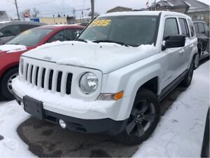 2015 Jeep Patriot High Altitude  Awd Htd Leather Sunroof