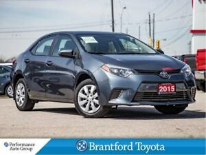 2015 Toyota Corolla LE, Off Lease, BU Camera, Heated Seats