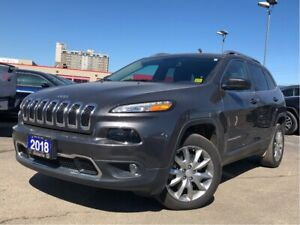 2018 Jeep Cherokee LIMITED**LEATHER**BACK UP CAM**BLUETOOTH**