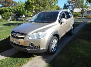 2008 Holden Captiva Wagon Armidale Armidale City Preview