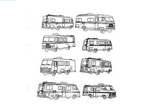 CHAMPION MOTORHOME RV SERVICE MANUAL Set -900pg Titan TransStar TransVan Repair